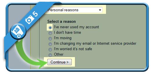 delete ebay account 5