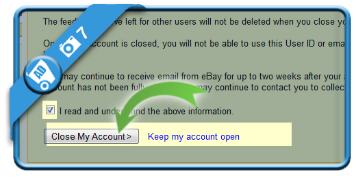 delete ebay account 7