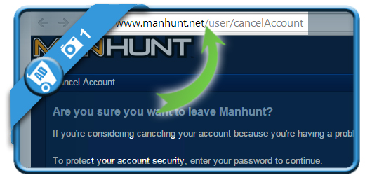 delete manhunt account 1