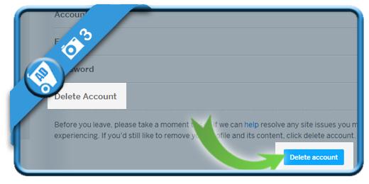 delete myspace account 3