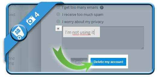 delete myspace account 4