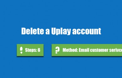 delete uplay account 0