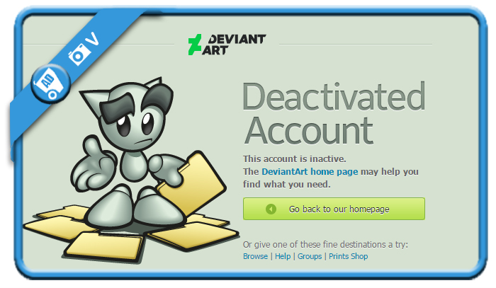 delete deviantart account 9