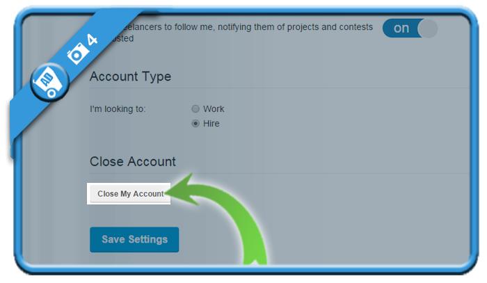 delete freelancer account 4