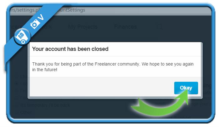 delete freelancer account 6