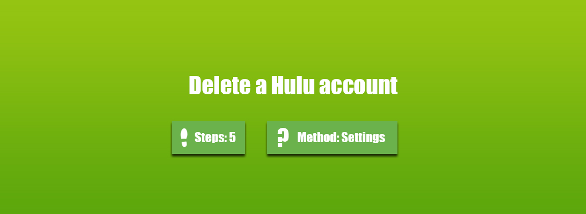 How to delete a Hulu account? - AccountDeleters