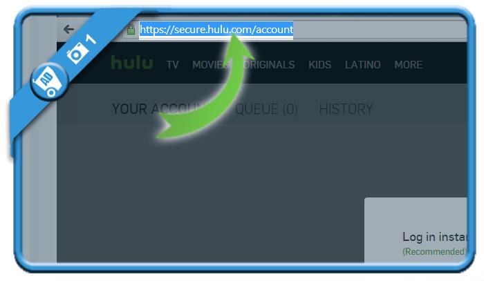 delete hulu account 1