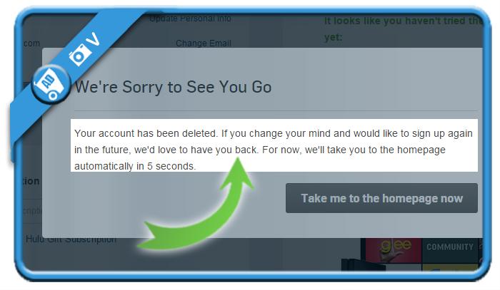 delete hulu account 6