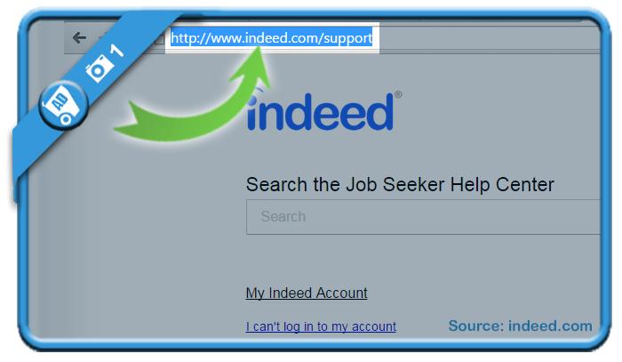 delete indeed account 1