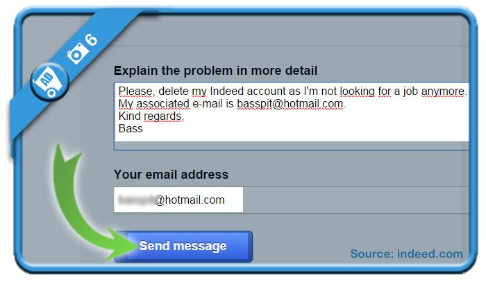 delete indeed account 6