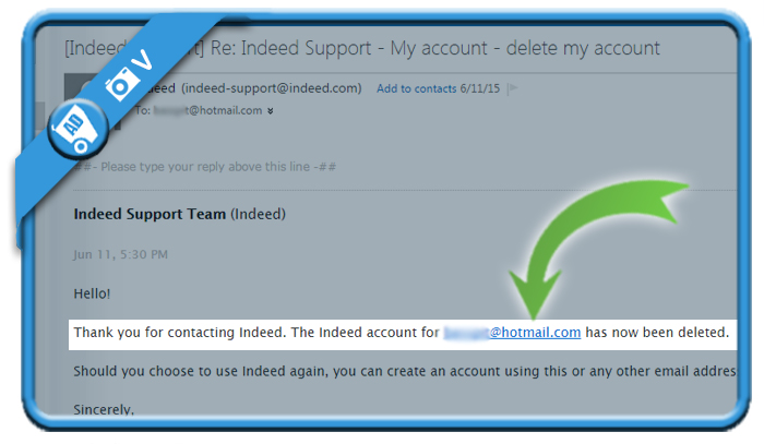 delete indeed account 8