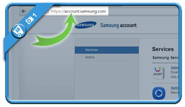 delete samsung account 1