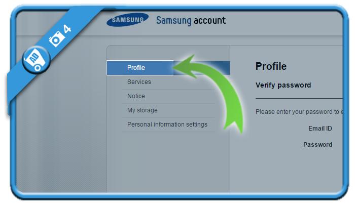 delete samsung account 4