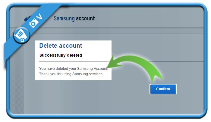delete samsung account 7