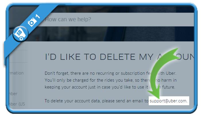 delete uber account 1
