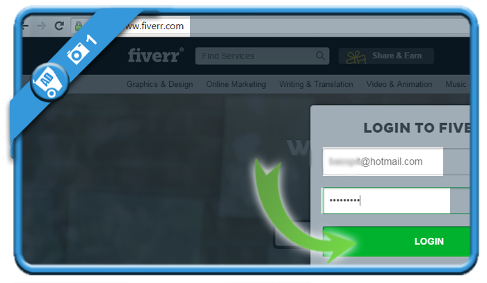 delete fiverr account 1