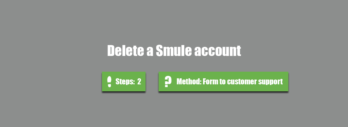 how to delete your smule account