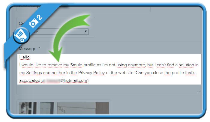 delete smule account 2