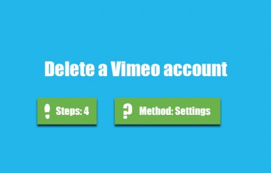 delete vimeo account 0