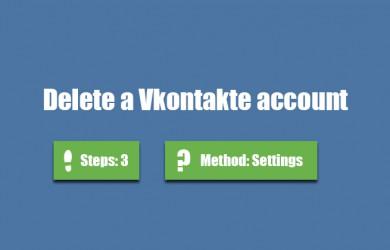 delete vkontakte account 0