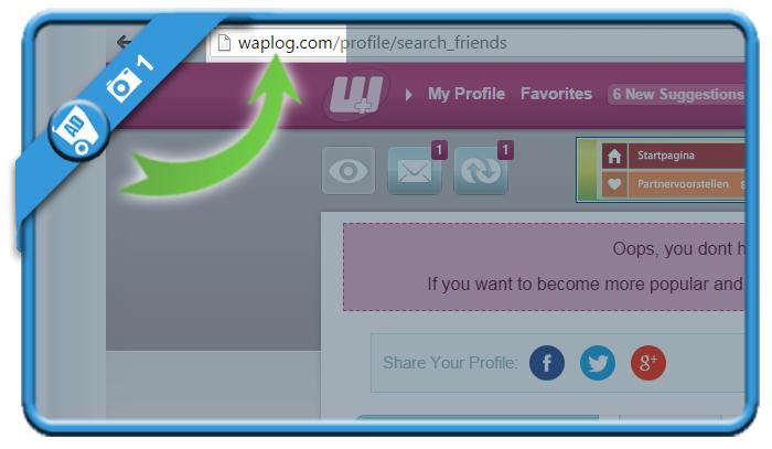 delete waplog account 1