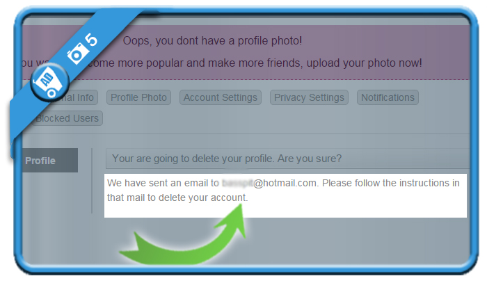 delete waplog account 5
