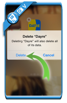 delete dayre account 5b