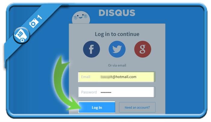delete disqus account 1