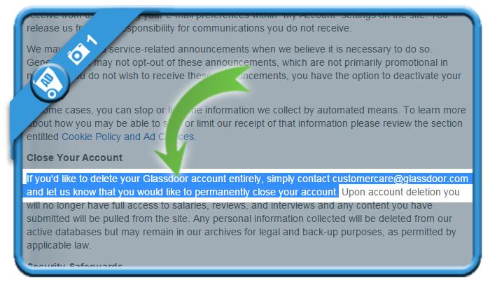 delete glassdoor account 1
