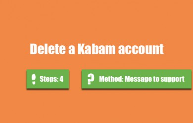 delete kabam account 0