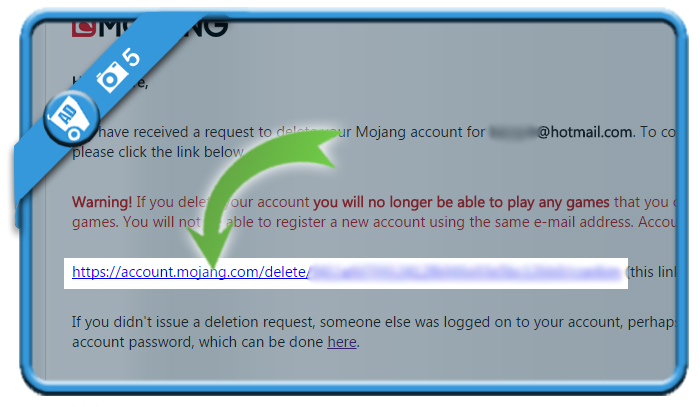 delete mojang account 5