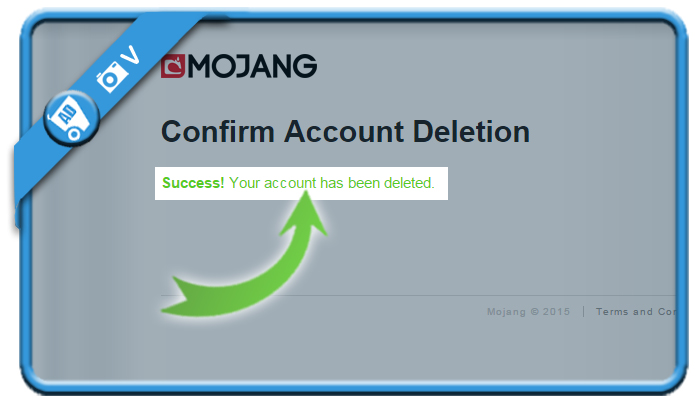 delete mojang account 7