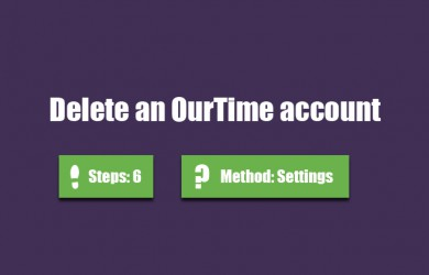delete ourtime account 7