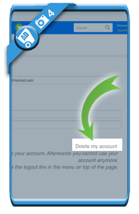 delete runtastic account 4