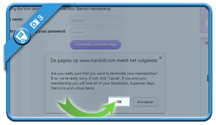 delete stardoll account 3