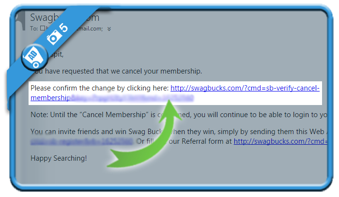 delete swagbucks account 5