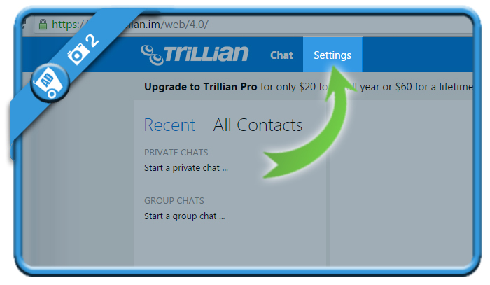 delete trillian account 2