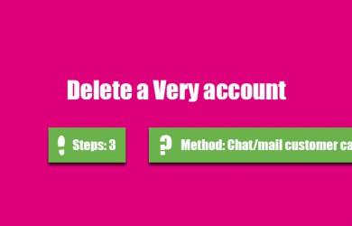 delete very account 0