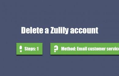 delete zulily account 0