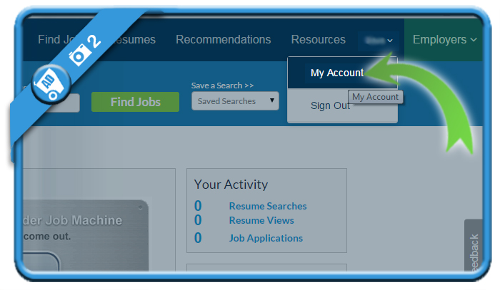 delete careerbuilder account 2
