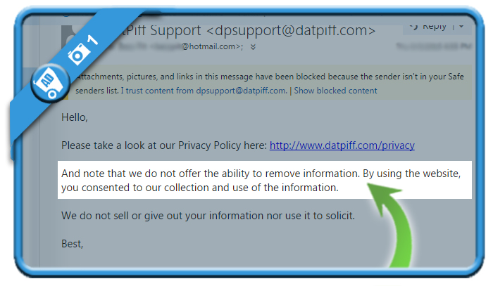 delete datpiff account 1
