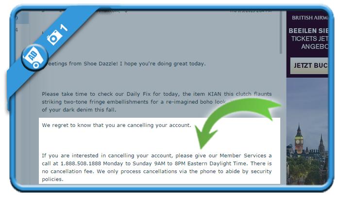 delete shoedazzle account 1