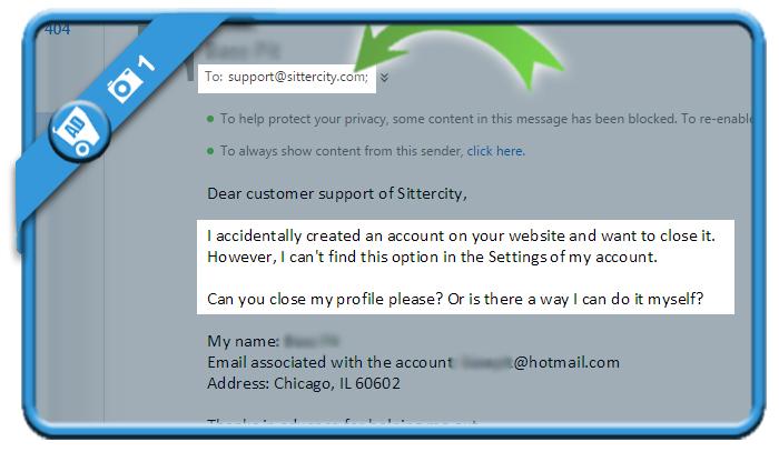 delete sittercity account 1