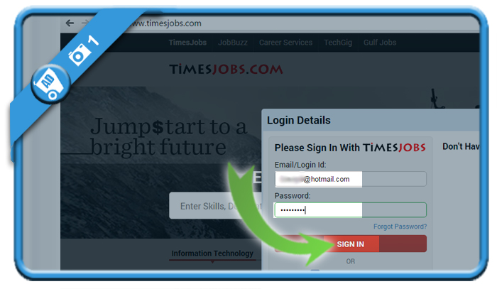 delete timesjobs account 1