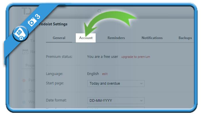 delete todoist account 3