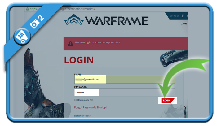 delete warframe account 2