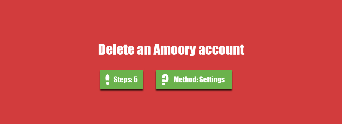 amoory account create