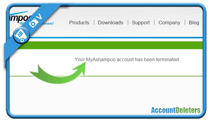 delete ashampoo account 3