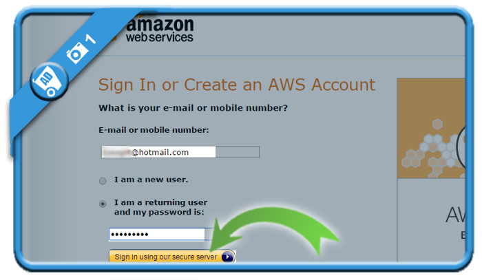 delete aws account 1