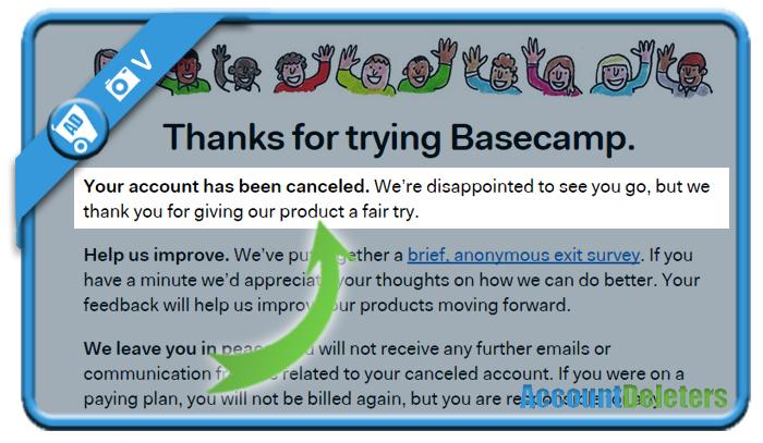 delete basecamp account 5